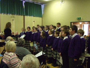 Ellesmere College Lower School Choir Performs Christmas Concert at Age Concern Day Centre