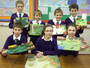 Ellesmere College Year 7 Pupils Create Model Competition