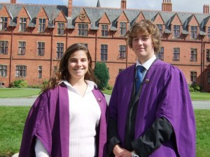 New Head Boy and Girl at Ellesmere College
