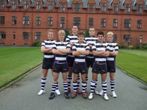 8 ELLESMERE COLLEGE PUPILS SELECTED TO PLAY RUGBY AT REGIONAL LEVEL